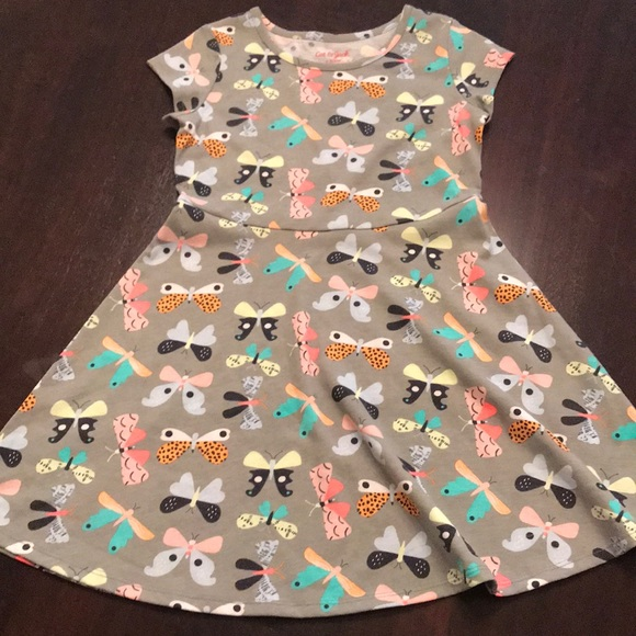 f67ffe21afe54 Cat & Jack Dresses | Cat Jack Girls Butterfly Dress | Poshmark